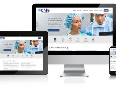 medical-group website