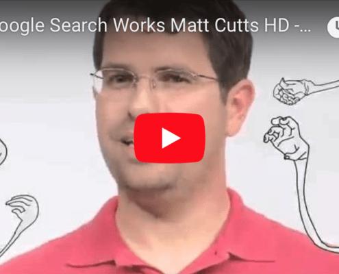 matt Cuts google search engine ranking