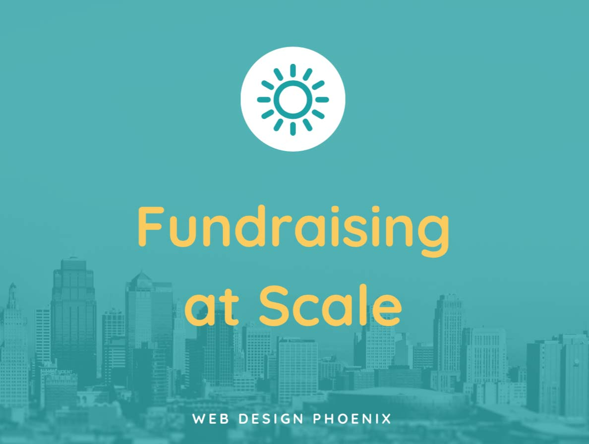 fundraising at scale