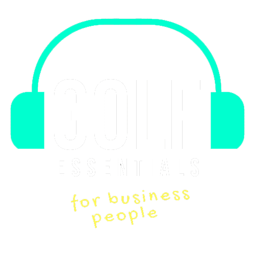 golf essentials for business people icon