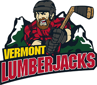 Vermont lumberjacks hockey logo