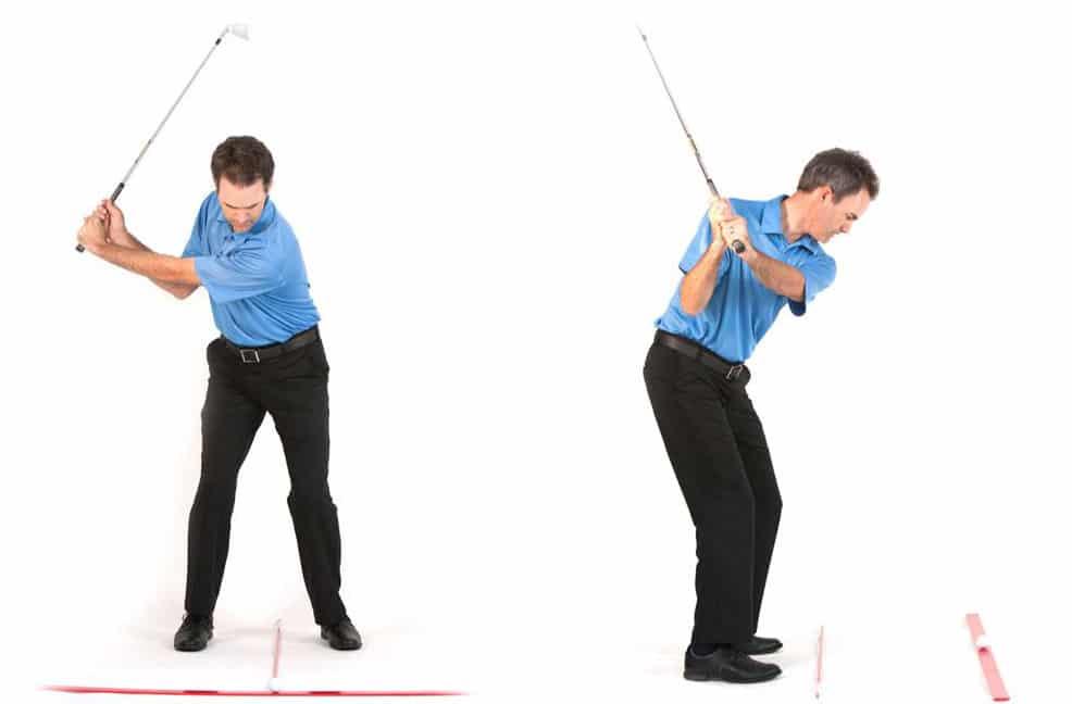golf wedge play demonstration