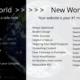 New world web design