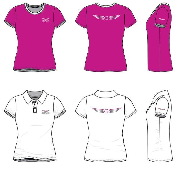logo redesign prossess tshirt design